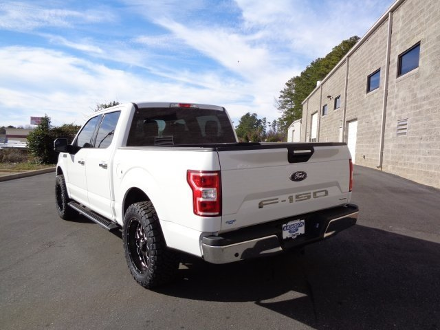 2018 Oxford White Ford F-150 XLT EcoBoost 2.7L V6 GTDi DOHC 24V Twin Turbocharged Engine RWD 4 Door Automatic Truck
