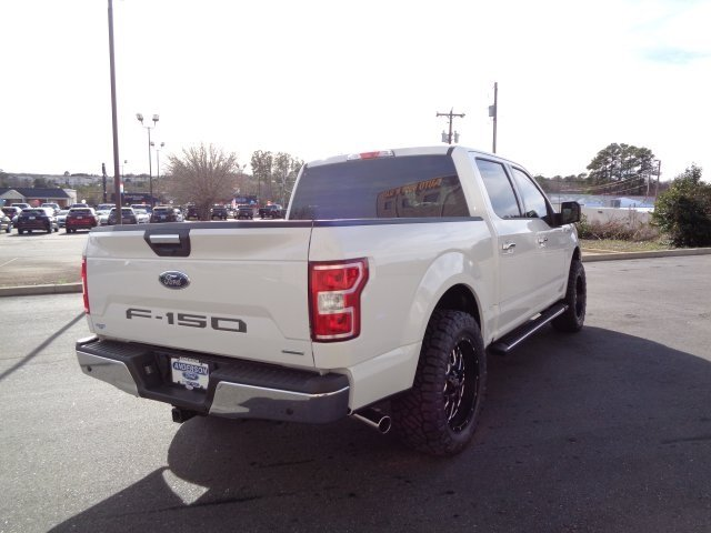 2018 Oxford White Ford F-150 XLT 4 Door RWD Truck Automatic EcoBoost 2.7L V6 GTDi DOHC 24V Twin Turbocharged Engine