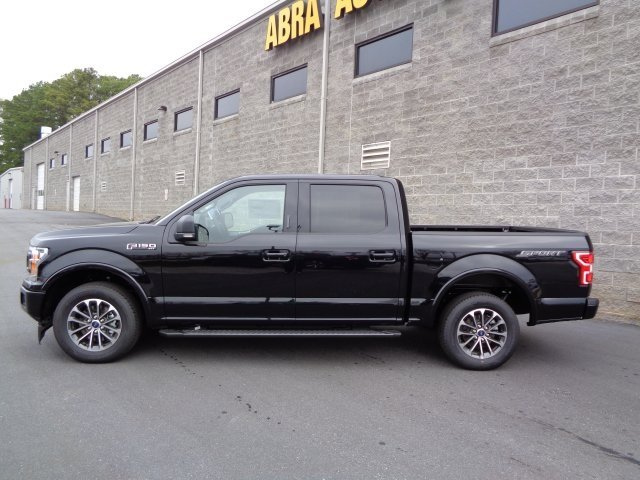 2019 Agate Black Metallic Ford F-150 XLT RWD EcoBoost 2.7L V6 GTDi DOHC 24V Twin Turbocharged Engine Automatic Truck