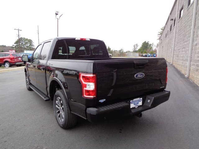 2019 Agate Black Metallic Ford F-150 XLT 4 Door Automatic Truck EcoBoost 2.7L V6 GTDi DOHC 24V Twin Turbocharged Engine
