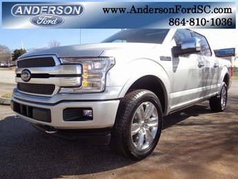 2019 Ford F-150 Platinum 4X4 4 Door Truck Automatic EcoBoost 3.5L V6 GTDi DOHC 24V Twin Turbocharged Engine