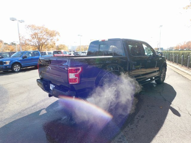 2018 Shadow Black Ford F-150 XLT 4 Door 5.0L V8 Ti-VCT Engine Truck