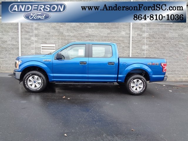 2018 Lightning Blue Ford F-150 XL Truck 4X4 Automatic