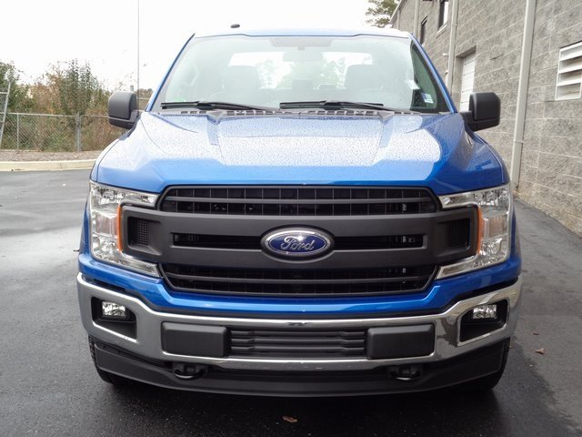 2018 Lightning Blue Ford F-150 XL 4 Door 5.0L V8 Ti-VCT Engine Automatic 4X4 Truck