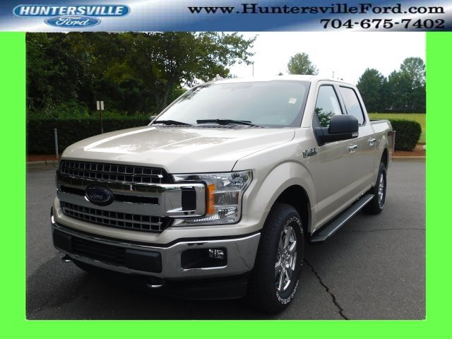 2018 White Gold Ford F-150 XLT Truck 4X4 5.0L V8 Ti-VCT Engine Automatic