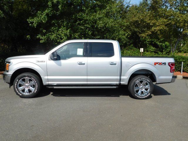2018 Ingot Silver Metallic Ford F-150 XLT 5.0L V8 Ti-VCT Engine 4X4 Truck 4 Door