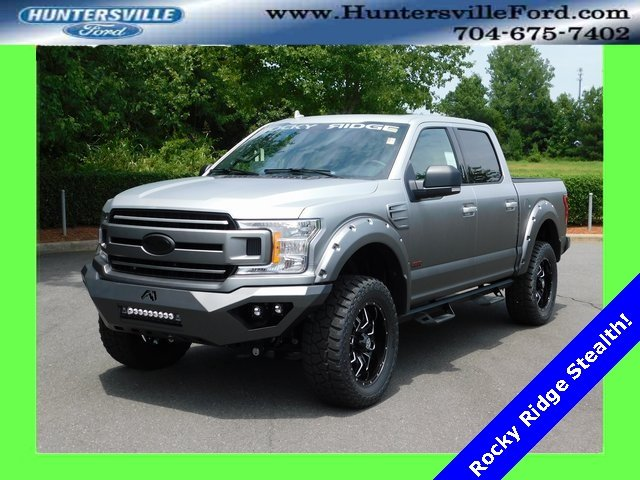 2018 Ingot Silver Metallic Ford F-150 XLT 4 Door 4X4 Truck Automatic 5.0L V8 Ti-VCT Engine