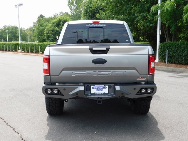 2018 Ingot Silver Metallic Ford F-150 XLT 4 Door 4X4 5.0L V8 Ti-VCT Engine Truck Automatic