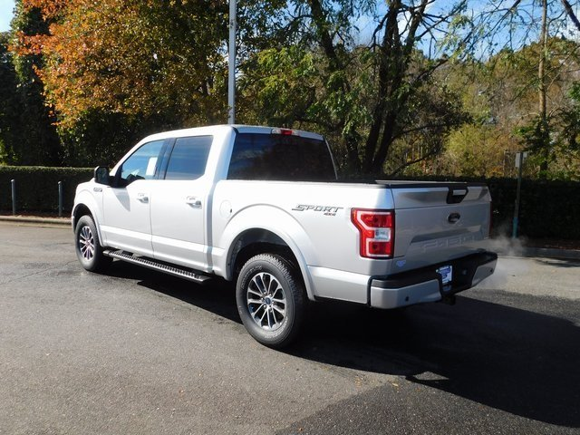 2018 Ingot Silver Metallic Ford F-150 XLT Truck 5.0L V8 Ti-VCT Engine 4 Door 4X4 Automatic