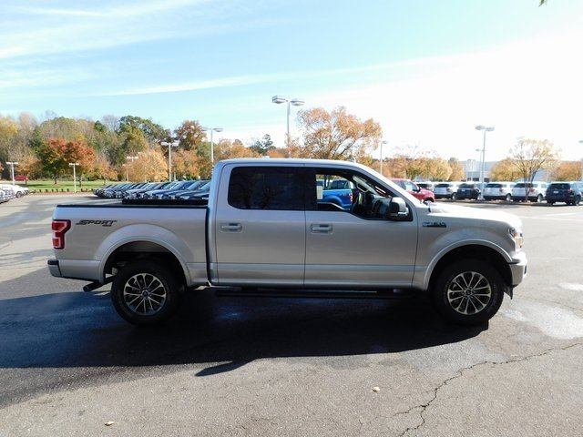 2018 Ingot Silver Metallic Ford F-150 XLT Automatic 4X4 Truck 4 Door