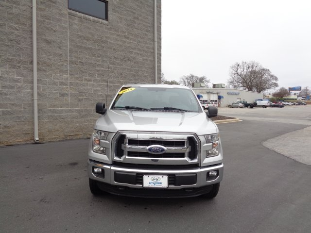2016 Ford F-150 XLT 5.0L V8 FFV Engine 4 Door Automatic Truck 4X4