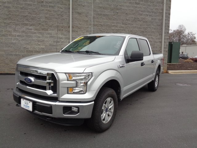 2016 Ford F-150 XLT Automatic 5.0L V8 FFV Engine Truck 4 Door