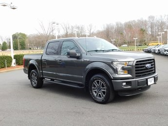 2015 Magnetic Metallic Ford F-150 XLT Automatic 4X4 4 Door 5.0L V8 FFV Engine