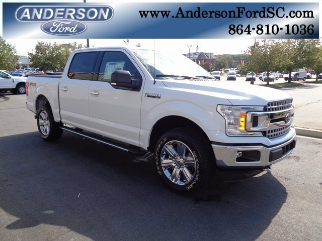 2018 Oxford White Ford F-150 XLT Automatic EcoBoost 3.5L V6 GTDi DOHC 24V Twin Turbocharged Engine 4 Door