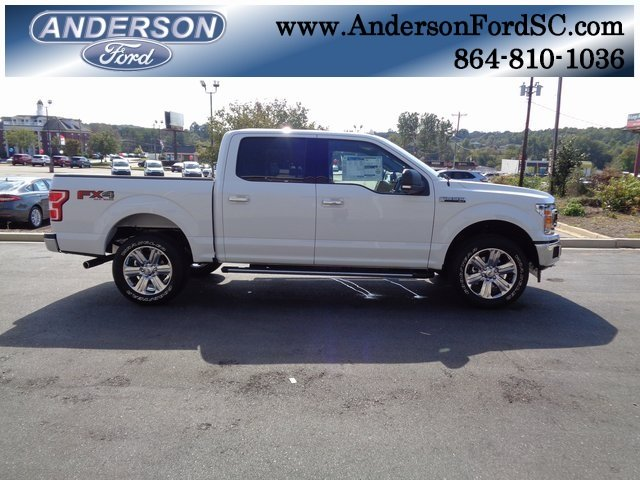 2018 Oxford White Ford F-150 XLT Truck Automatic EcoBoost 3.5L V6 GTDi DOHC 24V Twin Turbocharged Engine 4X4 4 Door