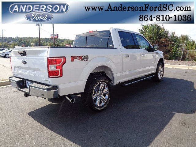 2018 Oxford White Ford F-150 XLT EcoBoost 3.5L V6 GTDi DOHC 24V Twin Turbocharged Engine Truck 4 Door 4X4 Automatic