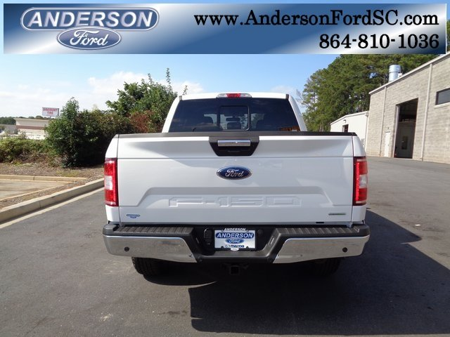 2018 Oxford White Ford F-150 XLT Automatic Truck 4 Door 4X4