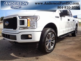 2019 Oxford White Ford F-150 XL EcoBoost 2.7L V6 GTDi DOHC 24V Twin Turbocharged Engine Truck 4 Door