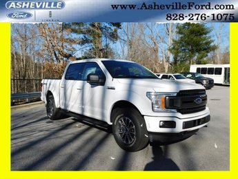 2019 Oxford White Ford F-150 XLT Automatic EcoBoost 2.7L V6 GTDi DOHC 24V Twin Turbocharged Engine Truck 4X4