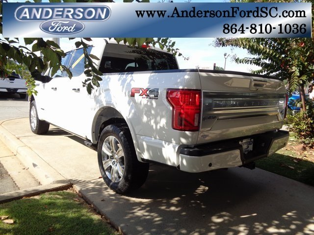 2018 Ford F-150 Platinum 4X4 3.0L Diesel Turbocharged Engine Automatic Truck 4 Door