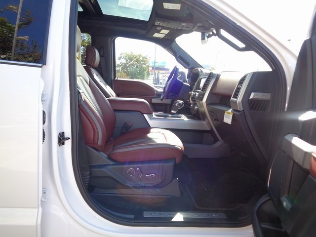 2018 White Metallic Ford F-150 Platinum Truck 4 Door 3.0L Diesel Turbocharged Engine Automatic