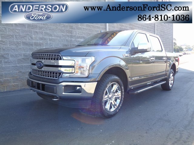 2018 Magnetic Metallic Ford F-150 Lariat 3.0L Diesel Turbocharged Engine 4 Door Automatic 4X4