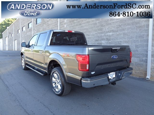 2018 Magnetic Metallic Ford F-150 Lariat Truck 4 Door 3.0L Diesel Turbocharged Engine 4X4 Automatic