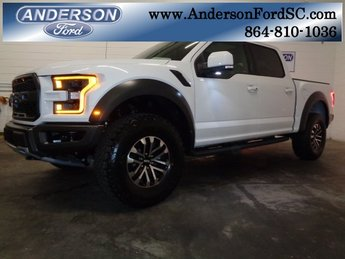 2019 Oxford White Ford F-150 Raptor Automatic 4X4 EcoBoost 3.5L V6 GTDi DOHC 24V Twin Turbocharged Engine Truck