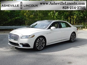 2018 White Platinum Clearcoat Metallic Lincoln Continental Reserve Sedan 4 Door V6 Engine FWD Automatic