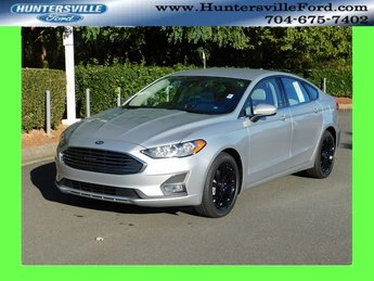 2019 Ingot Silver Metallic Ford Fusion SE Automatic EcoBoost 1.5L I4 GTDi DOHC Turbocharged VCT Engine 4 Door FWD Sedan