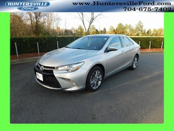 2016 Celestial Silver Metallic Toyota Camry SE Sedan FWD 2.5L I4 SMPI DOHC Engine 4 Door Automatic