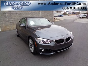 2016 BMW 4 Series 428i Convertible 2 Door Automatic RWD 2.0L 4-Cylinder DOHC 16V TwinPower Turbo Engine