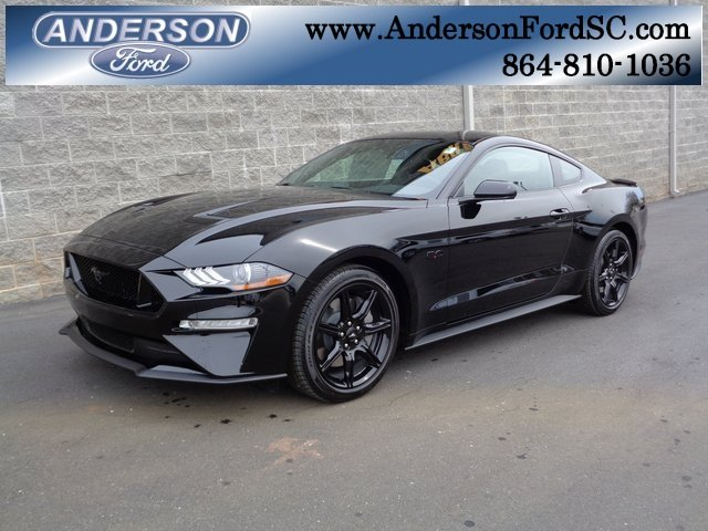 2019 Shadow Black Ford Mustang GT 5.0L V8 Ti-VCT Engine RWD Coupe 2 Door