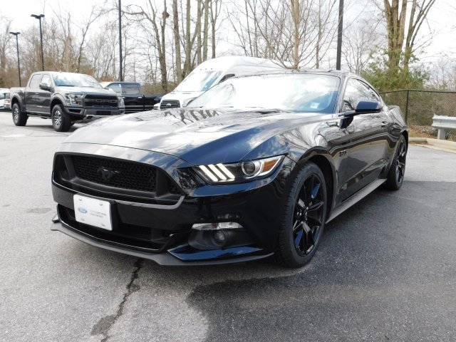 2017 Shadow Black Ford Mustang GT Automatic RWD 5.0L V8 Ti-VCT Engine