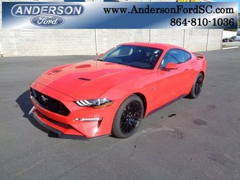 2019 Race Red Ford Mustang GT Coupe RWD 5.0L V8 Ti-VCT Engine 2 Door Manual