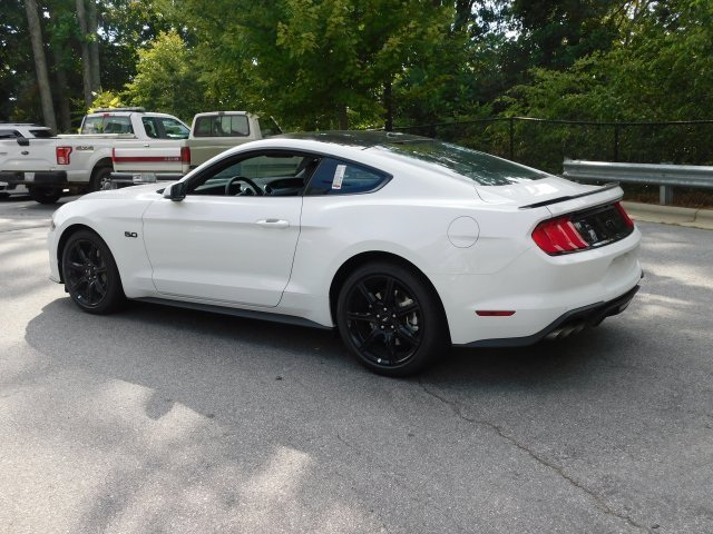 2019 Ford Mustang GT Premium RWD 5.0L V8 Ti-VCT Engine Manual 2 Door