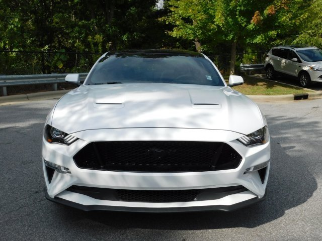 2019 Oxford White Ford Mustang GT Premium RWD Manual 5.0L V8 Ti-VCT Engine 2 Door
