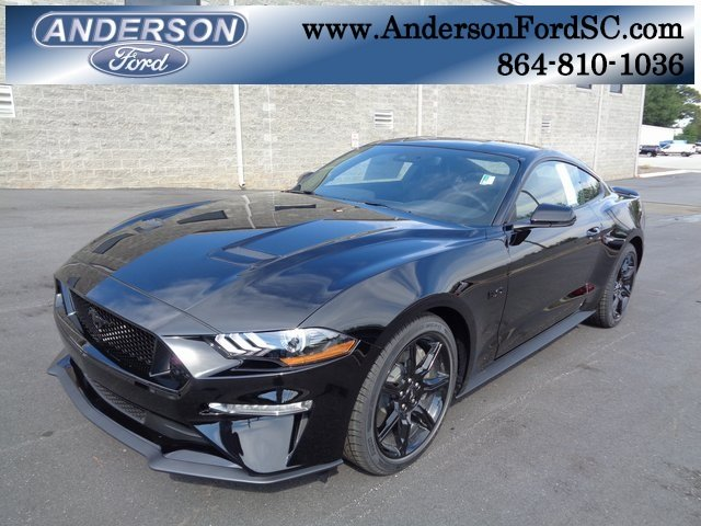 2019 Shadow Black Ford Mustang GT Premium 2 Door Manual 5.0L V8 Ti-VCT Engine