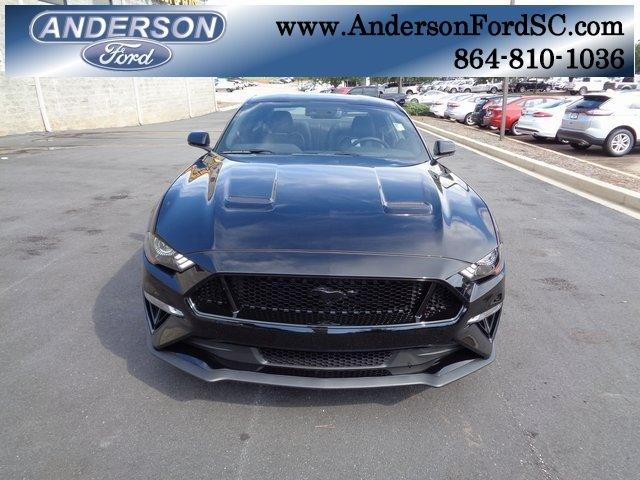 2019 Shadow Black Ford Mustang GT Premium RWD Coupe 5.0L V8 Ti-VCT Engine