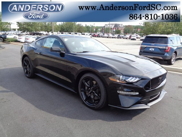 2019 Shadow Black Ford Mustang GT Premium RWD Coupe 2 Door