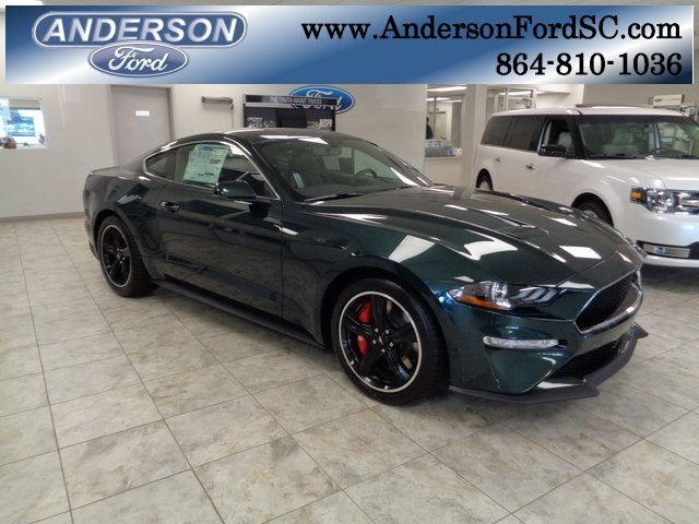 2019 Ford Mustang Bullitt Manual 5.0L V8 Ti-VCT Engine Coupe