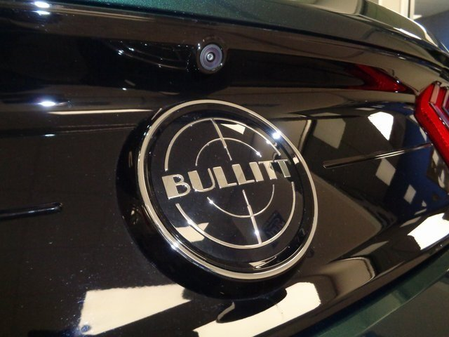 2019 Ford Mustang Bullitt Manual RWD 2 Door 5.0L V8 Ti-VCT Engine Coupe