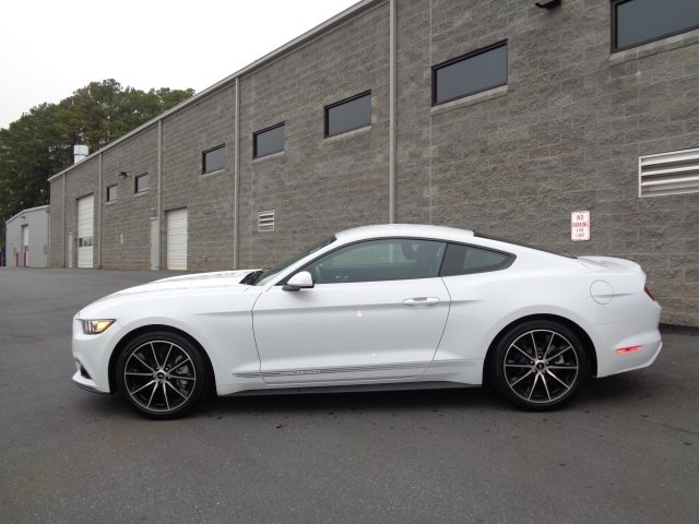 2017 White Ford Mustang EcoBoost Premium RWD Coupe 2 Door