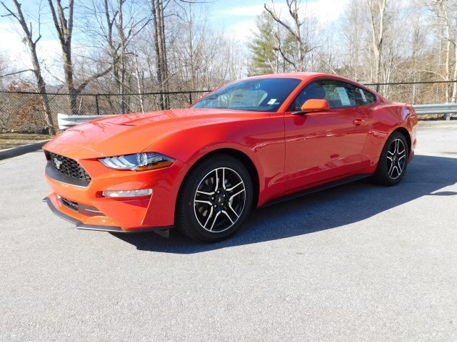 2019 Ford Mustang EcoBoost Automatic 2 Door RWD EcoBoost 2.3L I4 GTDi DOHC Turbocharged VCT Engine