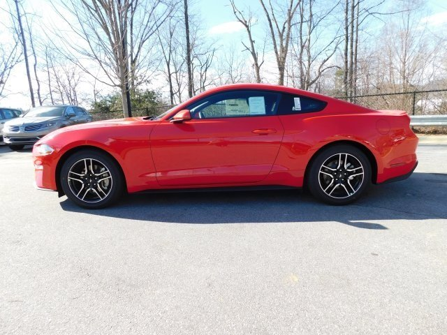 2019 Race Red Ford Mustang EcoBoost RWD EcoBoost 2.3L I4 GTDi DOHC Turbocharged VCT Engine 2 Door Coupe Automatic