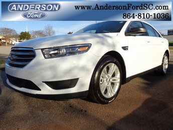 2019 Oxford White Ford Taurus SE Sedan 4 Door 3.5L V6 Ti-VCT Engine