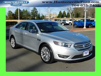 2018 Ingot Silver Metallic Ford Taurus Limited FWD Automatic 3.5L 6-Cylinder SMPI DOHC Engine 4 Door Sedan