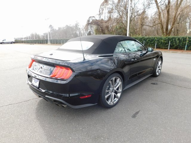 2018 Ford Mustang GT Premium Convertible 5.0L V8 Ti-VCT Engine RWD Automatic 2 Door