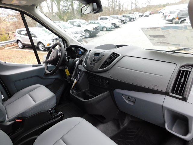 2019 Oxford White Ford Transit-350 XL Van RWD 3.7L V6 Ti-VCT 24V Engine Automatic 3 Door