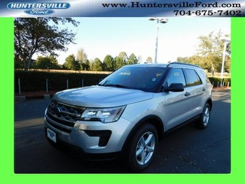 2019 Ingot Silver Metallic Ford Explorer Base SUV Automatic 4 Door 3.5L V6 Ti-VCT Engine